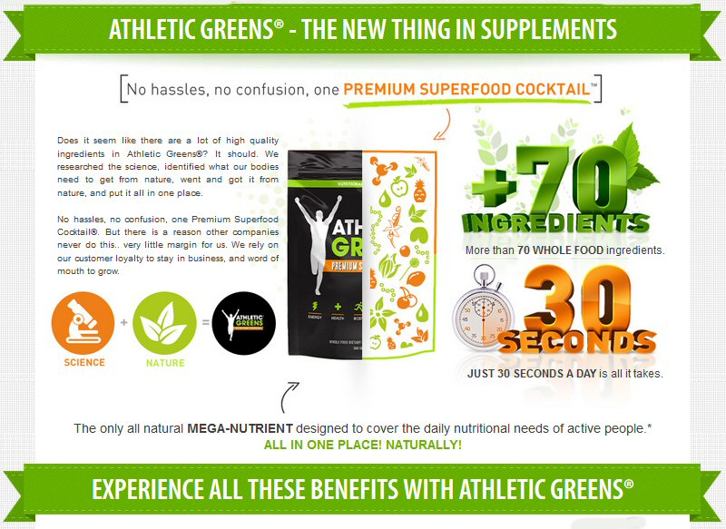 Athletic greens Energy Foods for the Amateur and Busy Parents